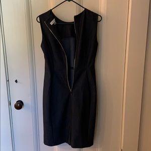 Grey Calvin Klein dress, size 8
